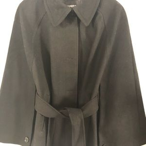 Express belted cape